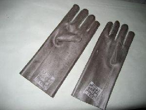 Перчатки резиновые защитные