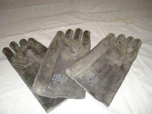 Перчатки из просвинцованной резины (из 3-х штук)